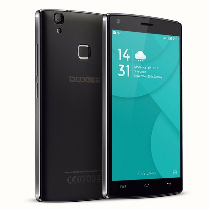 "New Doogee X5 MAX 5.0"" HD IPS Mobile Phone Android 6.0 MTK6580 Quad Core 1GB+8GB 8.0MP Unlocked GSM/WCDMA 4000mAh Fingerprint"