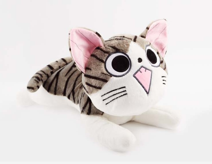 80cm / 31.5 Inch On Sale Big Giant Soft & Stuffed Plush Toys Chi's Sweet Home Cute Cheese Cat(China (Mainland))