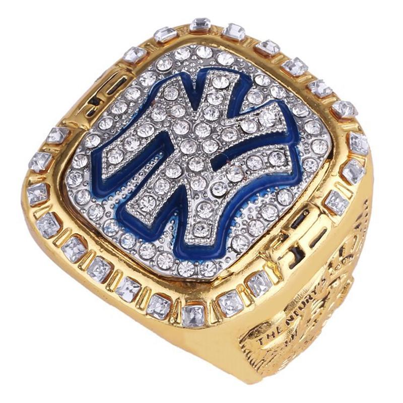 MLB Yankees  Fans Rings 1999 New York  World Series Ring Replica (Mariano Rivera)<br><br>Aliexpress