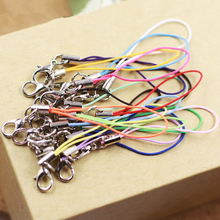 10 Pcs Cell Phone Lanyard Cords Strap keychain Lariat Mobile chain Lobster Clasp Free shipping rope(China (Mainland))