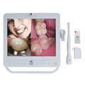 15 Inch Monitor With Dental Wireless Intraoral Camera Unit Holder MP4 Function