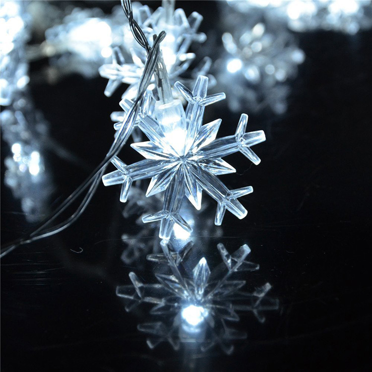 Philips Garland Led String Lights : 10M 100 LED Snowflake String Fairy Lights New Year Xmas Party Wedding Garden Light Lamp Garland ...