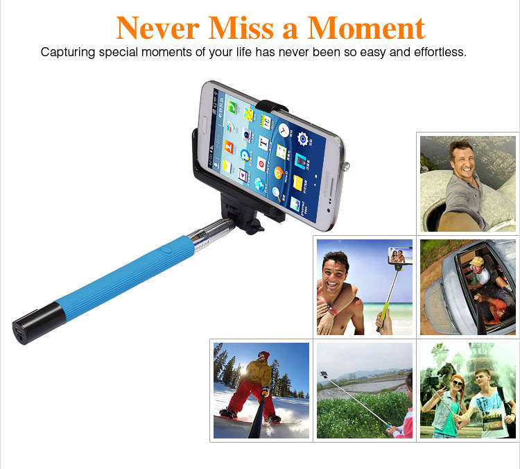 buy lowest price wireless bluetooth mobile phone monopod selfie stick. Black Bedroom Furniture Sets. Home Design Ideas