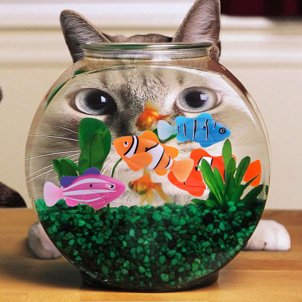 Popular electronic fish tank toy buy cheap electronic fish for Decoration maison aquarium