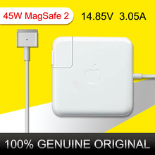 "Originale 45 W 14.85 V 3.05A Power Adapter chargeur Magsafe2 pour Apple MacBook Air 11 "" 13 "" après juin 2012 A1465 A1436 A1466 A1435(China (Mainland))"