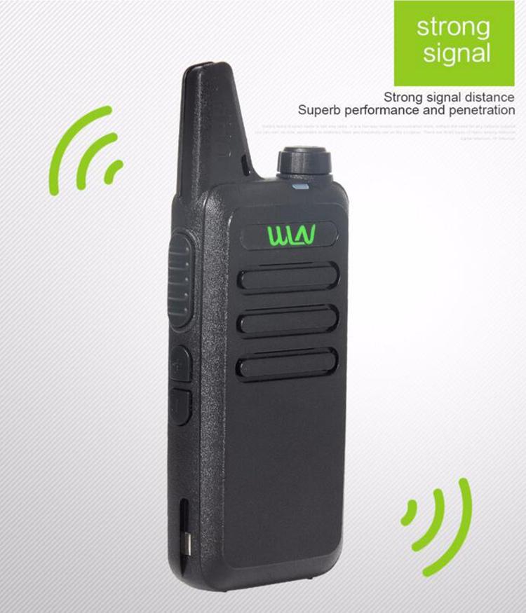 Best Thin UHF 400-470Mhz Wireless Walkie Talkie WLN Kd-C1 With 5W Ham Radio Scanner Mini Mobile Two Way Radio Transceiver(China (Mainland))