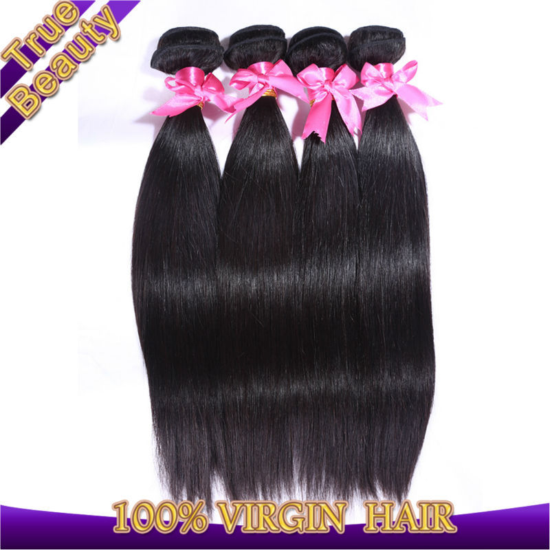 peruvian virgin hair straight 4pcs real human hair extensions virgin peruvian hair be dyed cheap peruvian straight virgin hair(China (Mainland))
