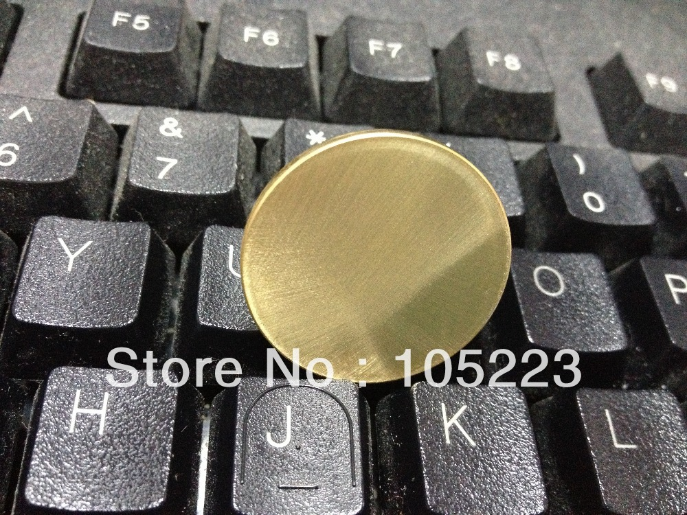 Sample Test Quality Blank coin , wholesale 100 pcs brass blank size 28.4mm thickness 2.5mm weight 12g brss blank coin coins(China (Mainland))