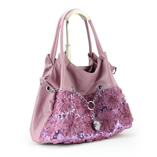 2013 spring bags women's handbag women's shoulder bag fashion lace flower messenger bag