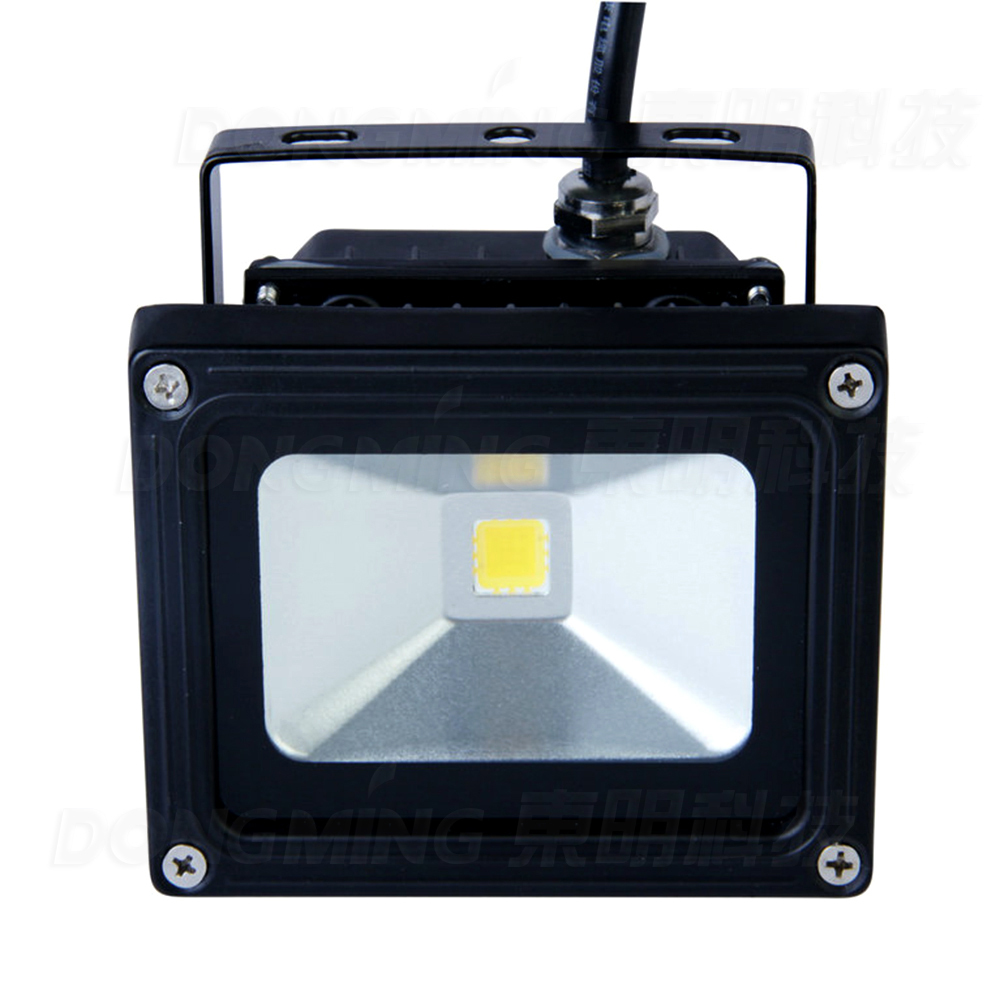 New lowest price 10pcs dimmable led flood light outdoor cool white IP65 900LM RGB 10w led flood light bulbs 12V DC(China (Mainland))
