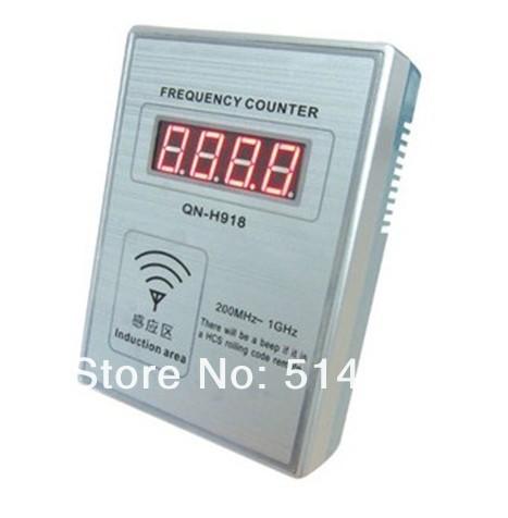 Clé de voiture compteur de fréquence QN-H918 ( 200 MHz à 1 GHz ) compteur de fréquence(China (Mainland))