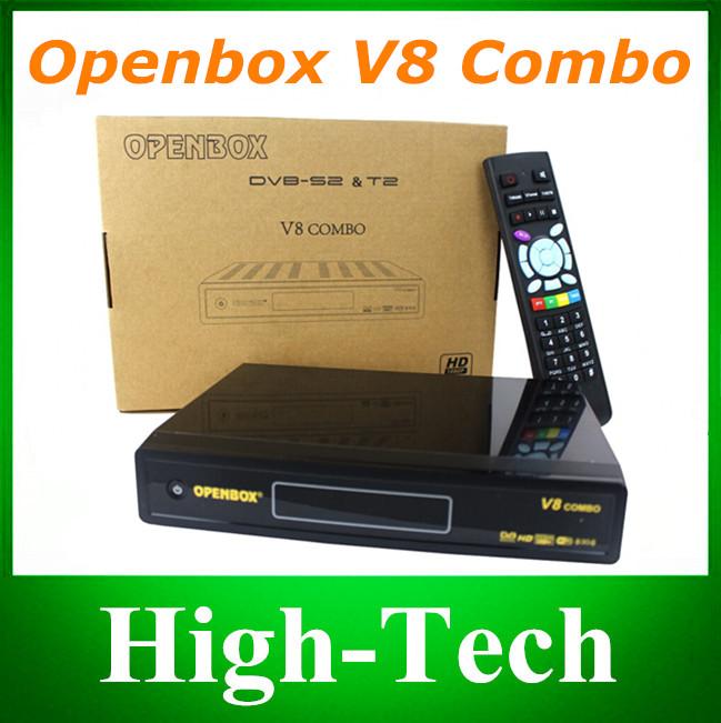 Original Openbox V8 Combo Satellite Receiver DVB-S2+DVB-T2 Support Cccamd Newcamd Youtube Youporn Google Map USB Wifi DLNA Post(China (Mainland))
