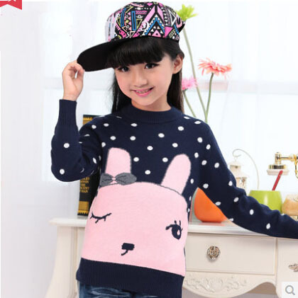 Winter Childrens Sweater Girls Woollen Sweaters,Autumn New Arrival 2014 Thicken Knitted For Child,Baby Girl Kids Sweater <br><br>Aliexpress