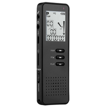 Yulass Telephone Digital Voice Recorder 8GB Portable Professional Dictaphone With Mp3 Player/TF Card To Expand 64GB Black(China (Mainland))