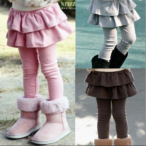 High quality 100-140 spring autumn girls Leggings & skirt girls trousers children pants(China (Mainland))