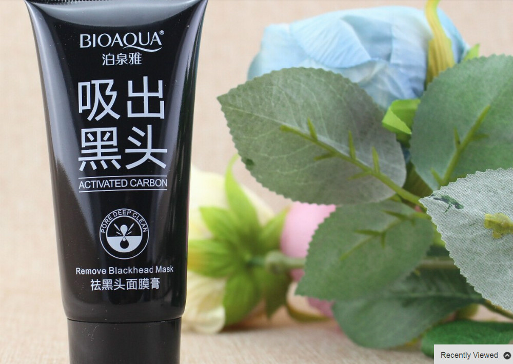 tearing style Deep Cleansing purifying peel off facial mask with face mud and whitening skin care B4(China (Mainland))