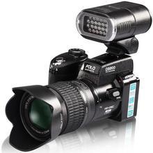 POLO D3200 digital cameras 16MP cameras Professional DSLR cameras Digital zoom Lens Wide Angel Lens Telephotos Len LED