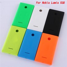 Original Style Case For Nokia Microsoft Lumia 532 Back Cover Door Housing Battery Replacement Hard Plastic Ultra thin Phone Case(China (Mainland))