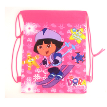 1pic school bags kids cartoon drawstring backpack bag For kids bag back to school mochila infantil