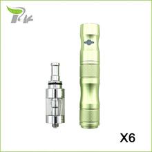 New cigarette kit vapour electronic e-cigarette vaping vaporizer X6 vape pen arguile eletronico e health smoke cigarette TZ027