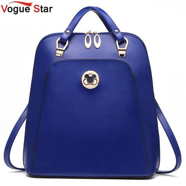 Vogue Звезда Известных брендов женщины Рюкзак Mochila женщин дорожные сумки школьные ...