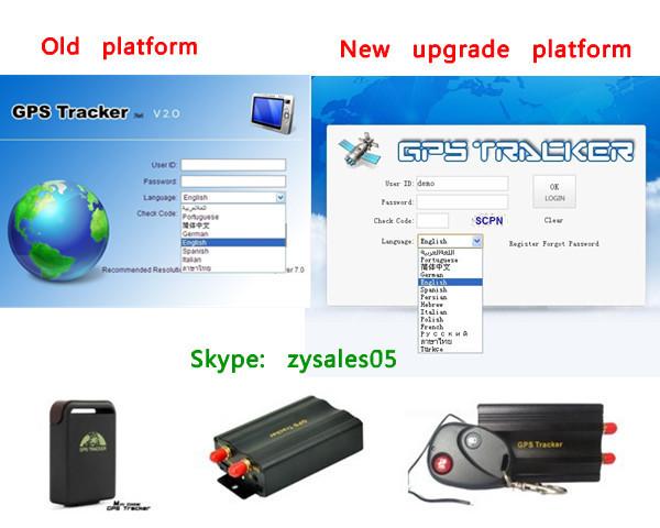 online tracking service platform imei active 1 year for TK102,TK103,TK104,TK106,TK107,GPS301,GPS303,GPS306(China (Mainland))
