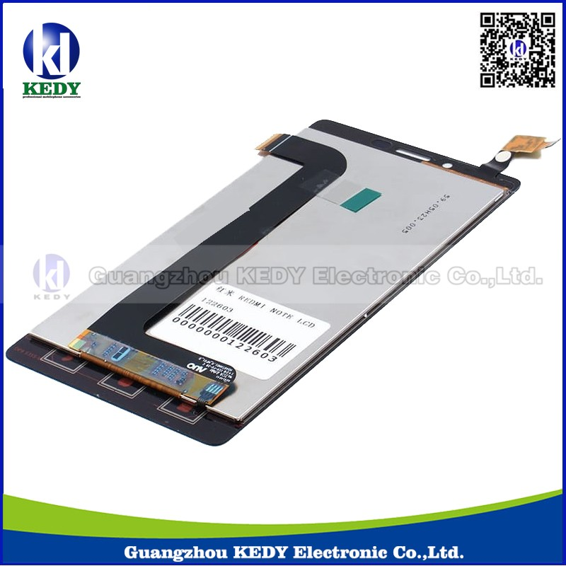 Original Repair Parts For Xiaomi redmi note LCD Display + Touch Screen Digitizer Replacement Assembly Black