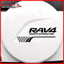 1pc/set RAV 4 Spare Tire Car Stickers RAV4 SPORTS OFFROAD 4WD Toyota Accessories Haknenkn Ha aBTO Styling DIY Decals - Otimo Auto Co., Ltd store