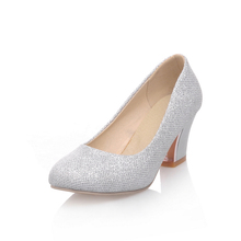 Silver small heel shoes online shopping-the world largest silver
