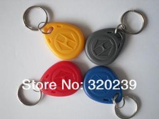 Free Shipping Access Control Card RFID Smart Card Of ID Key Fobs 125 KHz Id Card(China (Mainland))