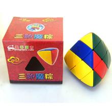 ShengShou Mastermorphix Forever Color 3x3 Odd Shape Speed Magic Cube Stickerless Free Shipping(China (Mainland))