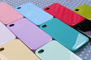 Wholesale free shipping Candy different Color mobile phone shell mobile phone protection sets DIY-SJ001