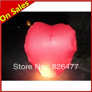 10 pcs / Lot 1.6M Chinese Kongming lantern wishing lamp flying paper sky lanterns for sale glow in the dark balloons Wholesale(China (Mainland))