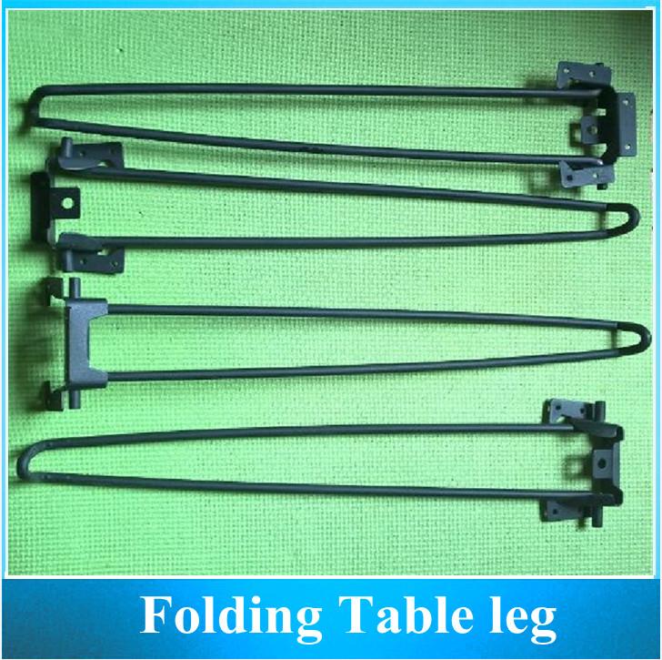Table Stand Bracket / Coffee Table Folding Metal Leg / Computer Desk Foldable Legs 450MM 4PCS<br><br>Aliexpress