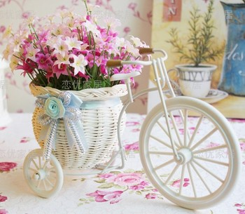 Rattan flowers artificial flower set home furnishings silk flower dining table decoration flower