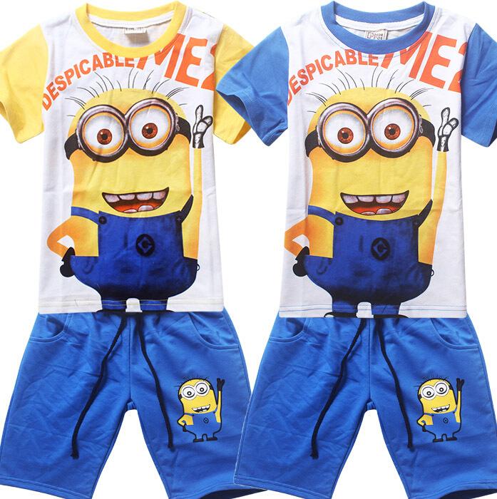 Baju Anak Karakter Minion Grosir Import Murah