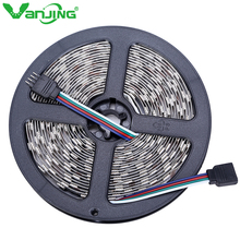 RGB LED Streifen 5050 SMD 5 Mt 300 leds Flexible Nonwaterproof LED Diode Band Hohe Qualität SMD LED Band für Dekoration(China (Mainland))