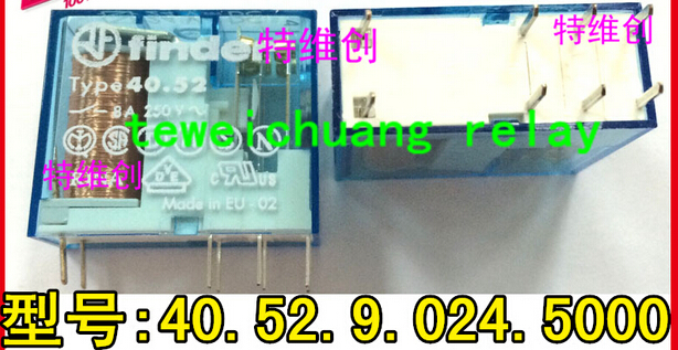 HOT NEW 40.52.9.024.5000 24VDC 40.52.9.024.5000-24VDC DC24V 24V 8A DIP8