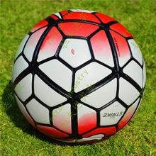 2015/16 Premier League Größe 5 Nahtlose Pu Fußball Top Qualität-Premier League Größe 5 Fußball mit Gas Nadel!! 6 Farben(China (Mainland))