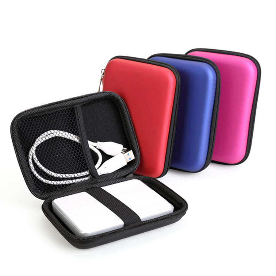 """New Portable 2.5"""" External USB Hard Drive Disk Carry Case Cover Pouch Bag for PC Laptop Dropship Wholesale High Quality(China (Mainland))"""
