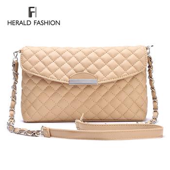 Бренд женщин сумка сумки плед кожа сеть женщины сумка почтальона сумочки сумка дизайнер креста тела плеча сумку оптовая продажа Bolsas Fmininas