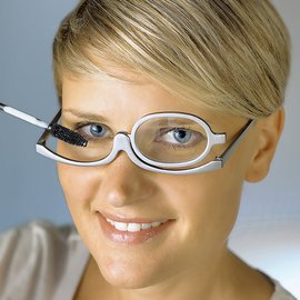 2014 fashion women making up reading glasses(China (Mainland))
