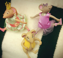 Original Japan Cute Dance Mouse Ballet Figure Toy Collection Cos Material Birthday Gift(China (Mainland))