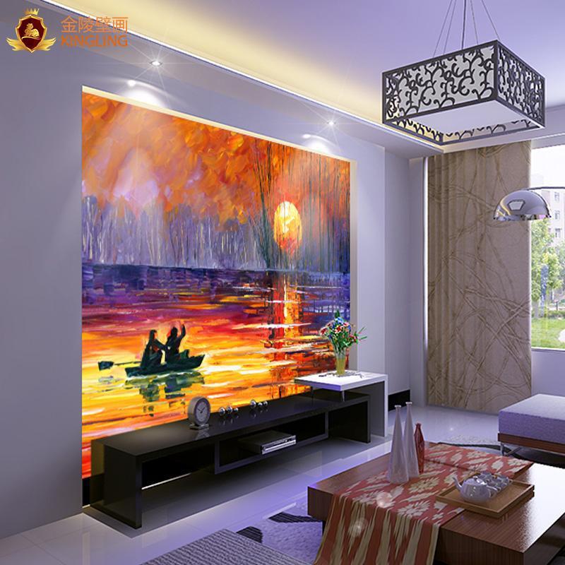 Buy 3d wallpaper tv background living room sofa backdrop for Buy mural wallpaper