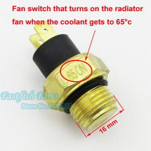 M16 Radiator Thermal Fan Switch Thermostat For 250cc Water Cooled ATV Quad Scooter Motorcycle Parts(China (Mainland))