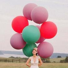 DHL Fast Shipping 50pcs/lot 36 inch Round Balloon, 3ft Gaint Party Wedding Decorate(China (Mainland))