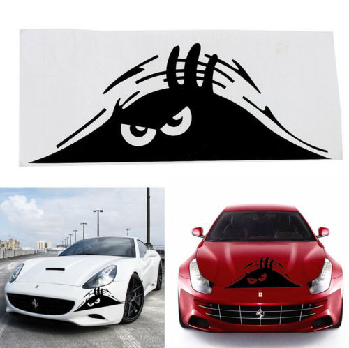 1 PCS Funny Peeking Monster Auto Car Walls Windows Sticker Graphic Vinyl Car Decals(China (Mainland))