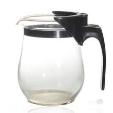 New Arrival 500ml Heat Resistant Glass Tea Pot Flower Teaset Puer kettle Coffee Teapot Convenient Office
