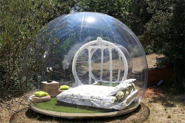 UFO?SF映画?いやいや、実在するテントです!!