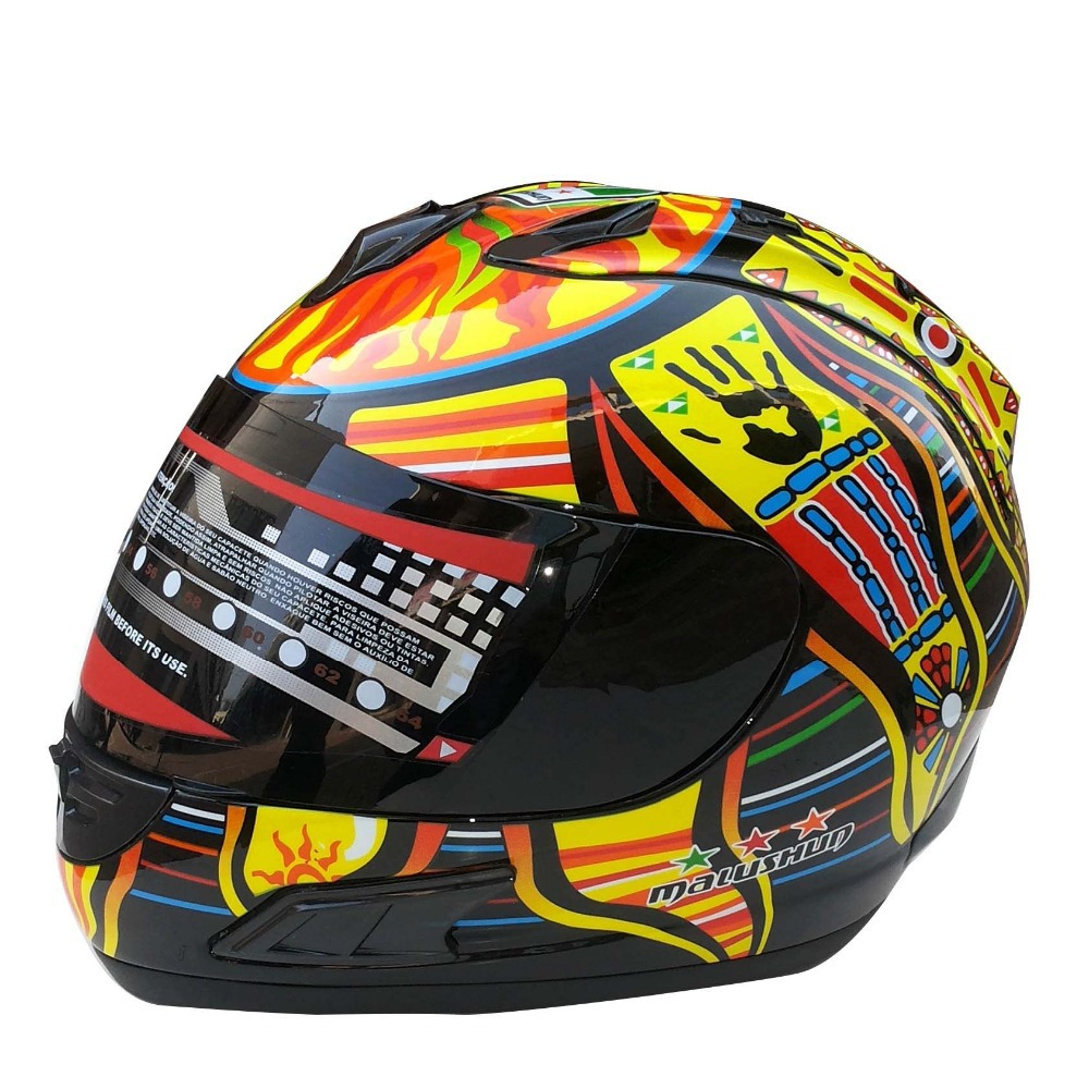2015 Valentino Rossi Motorcycle Full Face Helmet Moto Carting Casco Racing Capacete DOT Approval(China (Mainland))